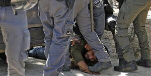 نظامیان اسرائیل به شهروندان فلسطینی در قدس تعرض کردند+فیلم
