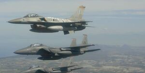 برگزاری رزمایش هوایی آمریکا با یونان در بحبوحه نشست آنکارا با آتن