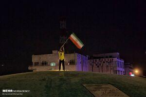 عکس/ شور و حال انتخاباتی شبهای تهران