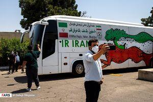 عکس/ استقبال از تیم ملی فوتبال ایران