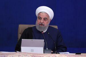 فیلم/ روحانی مشارکت مردم را به روند ثبتنامها ربط داد!