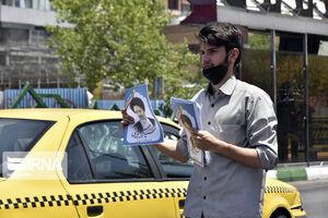 عکس/ شهر تهران در آخرین ساعات تبلیغاتی انتخابات