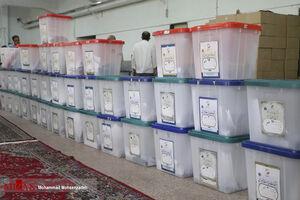 تحویل صندوقهای رای به شعب اخذ در قم