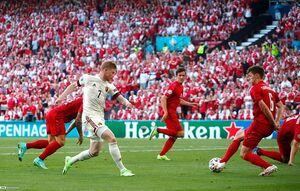 فیلم/ خلاصه بازی دانمارک ۱ - بلژیک ۲