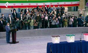 عکس/ خبرنگاران حاضر در حسینیه امام خمینی