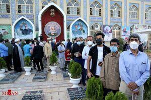عکس/ غوغای مردم کرمان در ساعات اولیه اخذ رای