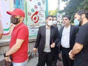 عکس/ حضور بنیفاطمه در حسینیه ارشاد