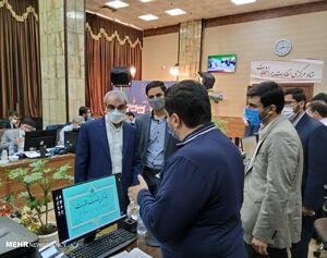 بازدید سخنگوی شورای نگهبان از ستاد مرکزی نظارت بر انتخابات