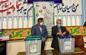 علی لاریجانی در مازندران رای داد +عکس