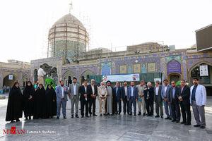 عکس یادگاری لیست شورای ائتلاف نیروهای انقلاب اسلامی