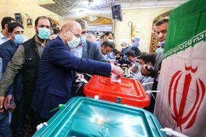عکس/ حضور چهرههای سرشناس پای صندوق رای