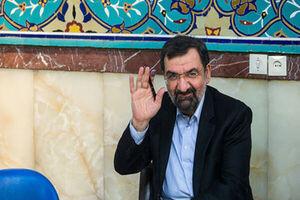 «محسن رضایی» رای خود را در حرم حضرت عبدالعظیم(ع) به صندوق انداخت