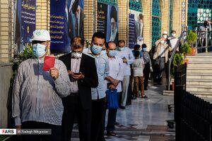 جشن انتخابات در امامزاده صالح