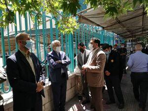 حضور اردکانیان وزیر نیرو در حسینیه ارشاد