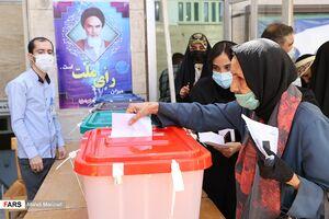 حضور پرشور زنان در روز انتخابات