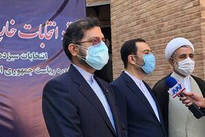 خطیبزاده: تا الان هیچ گزارشی از تخلف در انتخابات در خارج از کشور دریافت نکردهایم