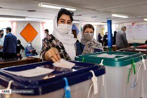 صف شلوغ رای اولیها در روز انتخابات