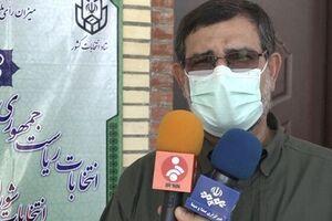 سردار تنگسیری در بندرعباس رای خود را به صندوق انداخت+عکس - کراپشده