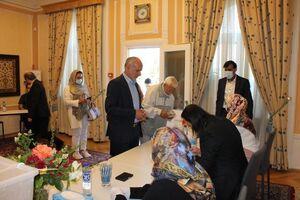 استقبال گسترده ایرانیان مقیم دانمارک از انتخابات ریاست جمهوری