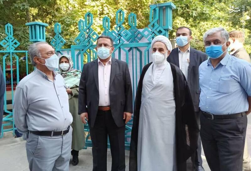 حضور حجت الاسلام ناطق نوری در حسینیه ارشاد