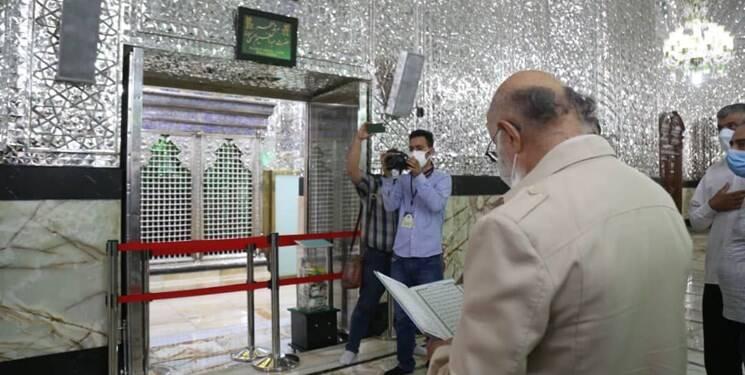 چمران رای خود را در شهرری به صندوق انداخت