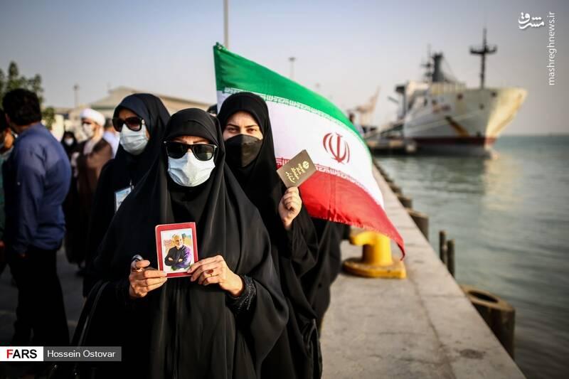 انتخابات ۱۴۰۰ شکوه حضور در کرانه خلیجفارس