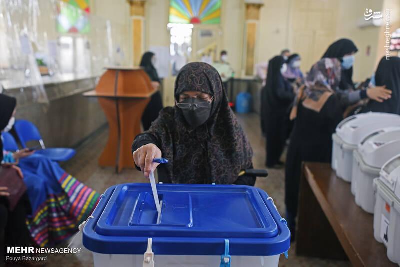 جشن انتخابات در رشت
