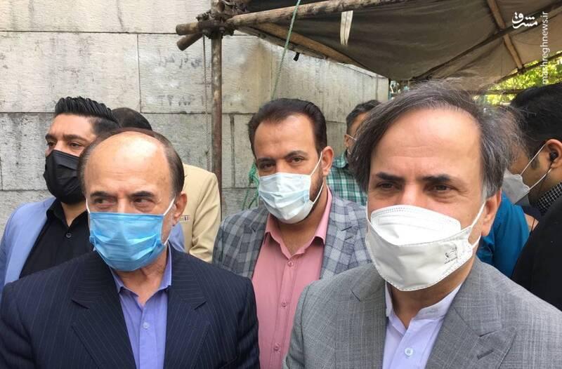 حضور محمدحسن نامی وزیر پیشین ارتباطات در صف انتخابات