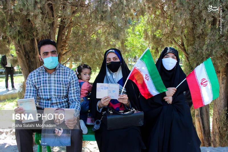 جشن انتخابات در بیرجند