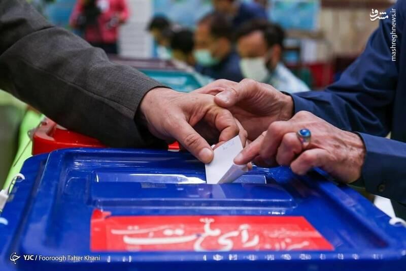 فیلم/ حضور ملیپوشان و مربیان وزنهبرداری در انتخابات