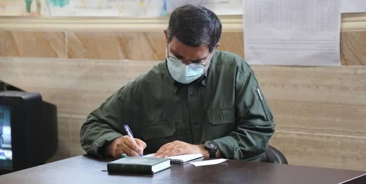 سردار تنگسیری در بندرعباس رای خود را به صندوق انداخت +عکس