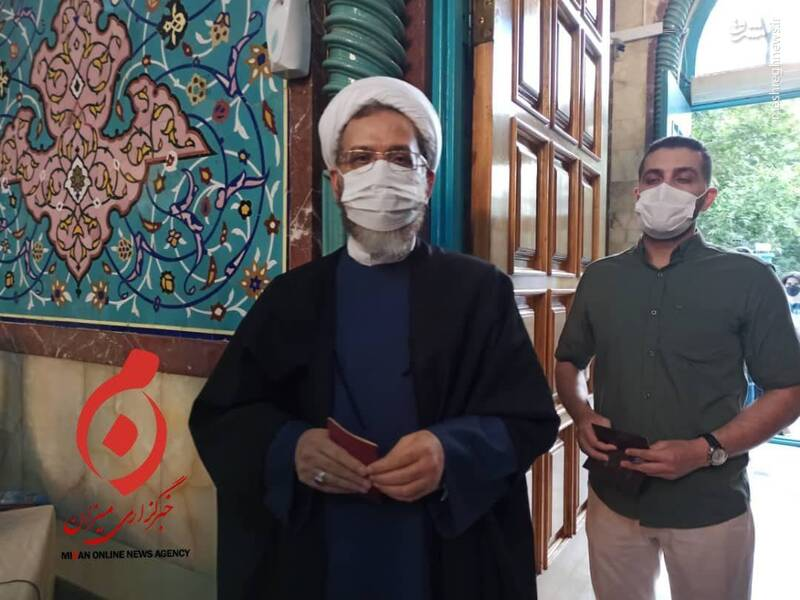 احمد مازنی نماینده مجلس دهم شورای اسلامی در حسینیه ارشاد