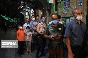 عکس/ آخرین ساعات اخذ رای انتخابات ۱۴۰۰ در تهران