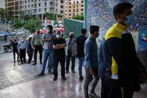 جشن انتخابات در محله ولنجک