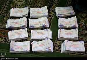 عکس/ شمارش آرای انتخابات ۱۴۰۰ در همدان