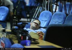 حاشیه حضور خبرنگاران در ستاد انتخابات کشور
