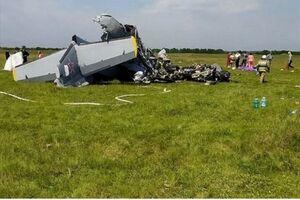 ۷ کشته بر اثر سقوط مرگبار هواپیما در سیبری +عکس