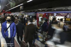 ازدحام مترو مربوط به نقص فنی نیست