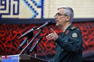 سرلشکر باقری حماسه حضور مردم در انتخابات ۱۴۰۰ را به رهبر انقلاب تبریک گفت