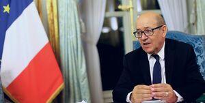 لودریان: جنگ لفظی میان ترکیه و فرانسه به آتشبس ختم شد