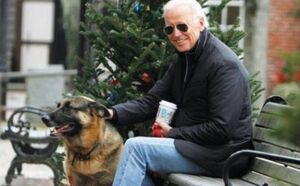 بیانیه بایدن برای مرگ سگش!