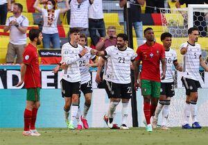 برد پرگل آلمان مقابل پرتغال از دریچه دوربین
