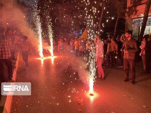 فیلم/ جشن پیروزی رئیسی در خیابانهای کرمانشاه