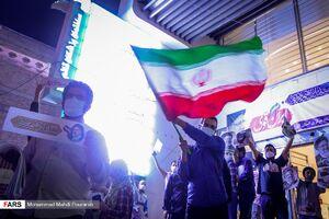 عکس/ جشن پیروزی هواداران رئیسی در البرز
