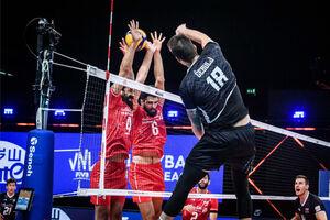 سه بازی سخت تیم ملی والیبال در هفته پایانی