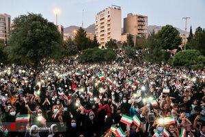 عکس/ غوغای مردم لرستان پس از پیروزی رئیسی