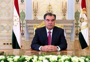رئیس جمهوری تاجیکستان پیروزی رئیسی را تبریک گفت