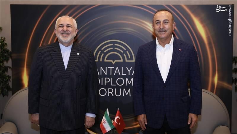 نشست سه جانبه ظریف با ترکیه و افغانستان آغاز شد