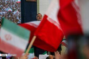 عکس/ جشن بزرگ پیروزی رئیسی با حضور زاکانی