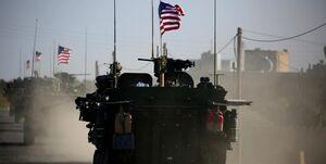 مسدود شدن مسیر کاروان نظامی آمریکا در سوریه